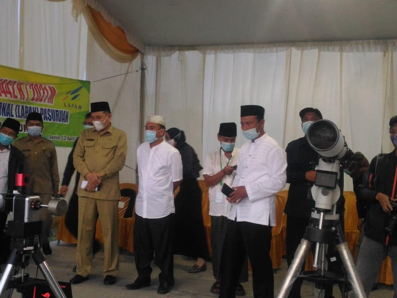 Pengadilan Agama Bangil Ikuti Pelaksanaan Rukyat Hilal Awal Ramadhan