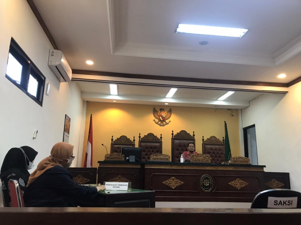 Pemberian Materi tentang Hukum Formil yang Berlaku di Pengadilan Agama Bangil
