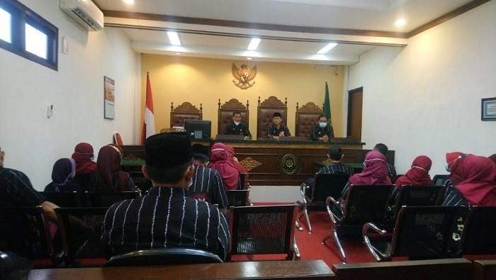 Pengadilan Agama Bangil Gelar Rapat Monitoring Evalusi Periode Mei 2021