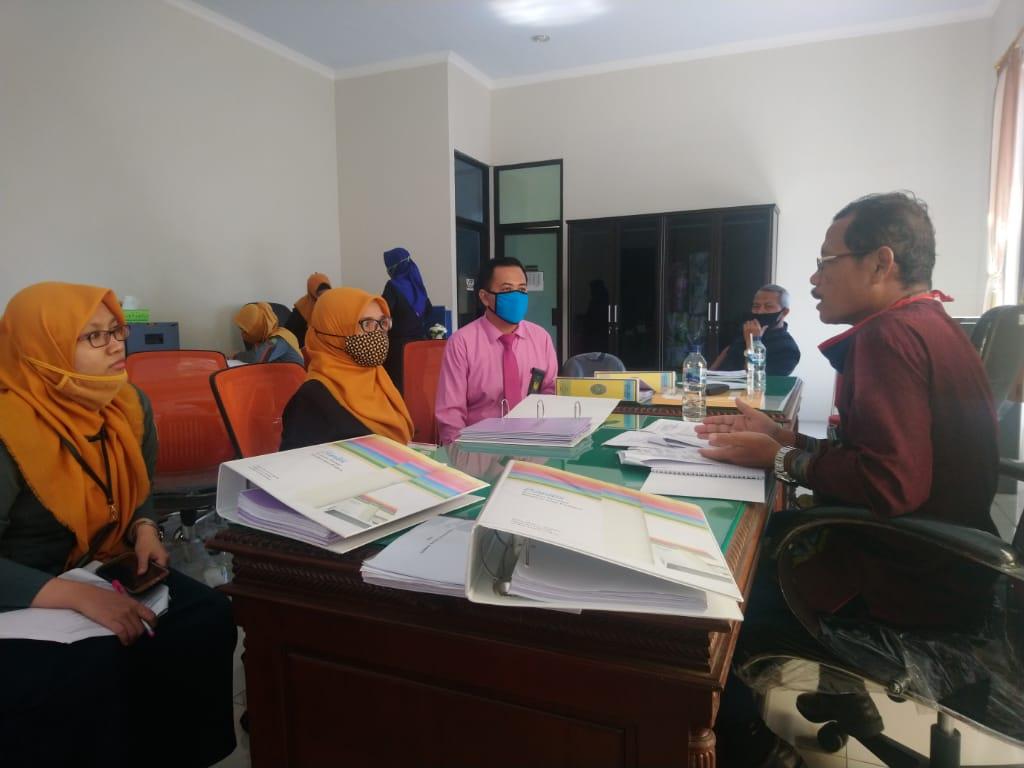 Pendampingan PTA Surabaya dalam mewujudkan Zona Integritas Di Pengadilan Agama Bangil