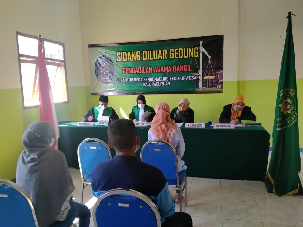 Lagi, Pengadilan Agama Bangil Sambangi Kantor Desa Sengon Agung